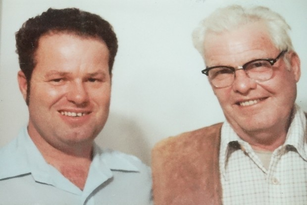 Ken and Earl (Curley) Fee